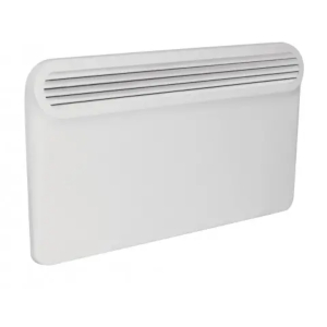 A white panel heater