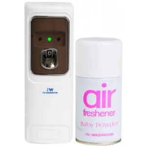 air freshener dispenser with a refill
