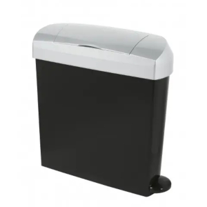 Sanitary bin with lid