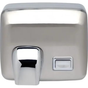 Push button hand dryer