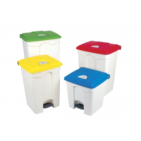 Pedal operated bins for tattooing