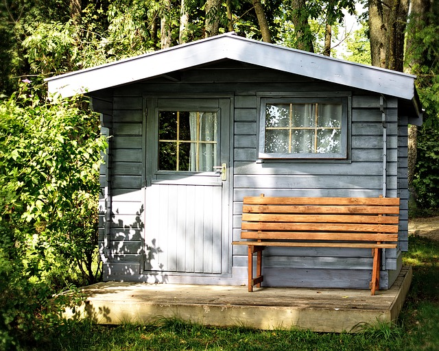 cosy garden shed
