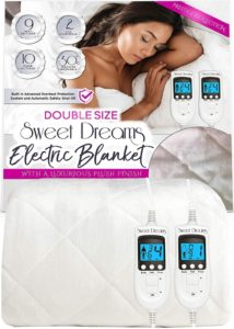 sweet dreams fully fitted electric blanket