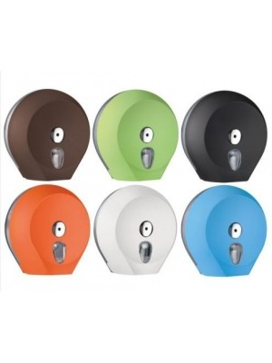 Coloured Mini Jumbo & Jumbo Toilet Roll Dispensers