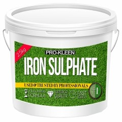 2.5kg of Pro-Kleen Iron Sulphate | Grass Greening, Moss Killing & Turf Hardening