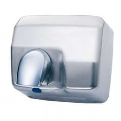 Jet Flow Brushed Steel Automatic Hand & Face Dryer, 2300W