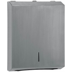Executive + Brushed Stainless Steel Multifold Paper Towel Dispenser