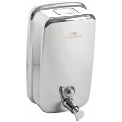 Pro Washroom Bulk Fill Stainless Steel Soap and Hand Sanitiser Dispenser 1L