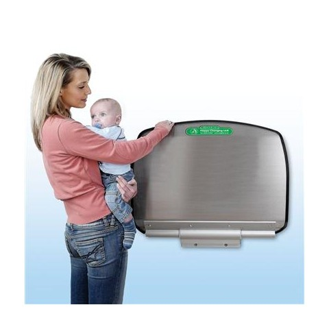Magrini Stainless Steel Commercial Baby Changing Table