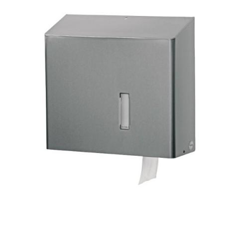 Stainless Steel Toilet Paper Dispenser Holds 1 Jumbo