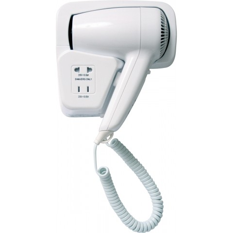 hotel style hair dryer hotel amp hospitality hair dryer with wall mounted holder 7545