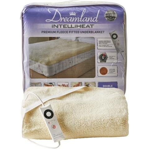 Dreamland Intelliheat Double Size Fleece Electric Heated