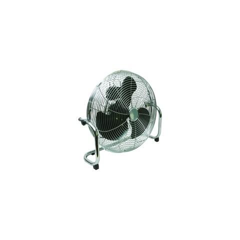 High velocity floor standing 3 speed fan 18 inch for 14 inch chrome floor standing fan