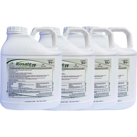Rosate 360 Glyphosate Super Strength Concentrated Weed Killer 5