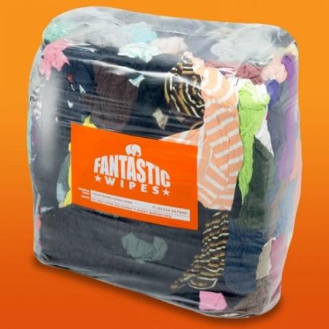 Wiping rags coloured t shirt quality 10kg hsdonline for T shirt rags bulk