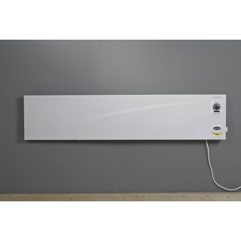 Slimline panel heaters with thermostat