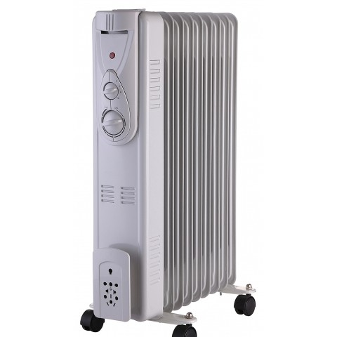 Osily 9 Fin Electric Oil Filled Radiator With Adjustable