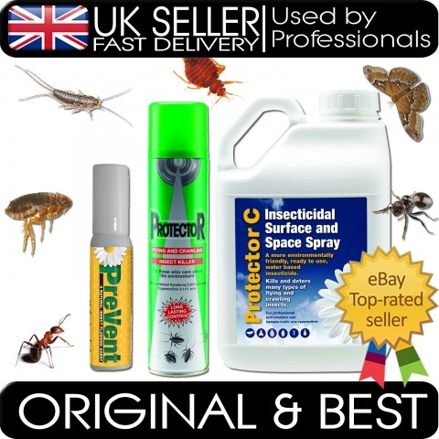 CARPET BEETLE KILLER KILL SPRAY POWDER HOME