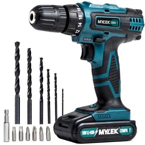 MYLEK 118 Piece Drill Bit Set for Li-ion Drills 262233