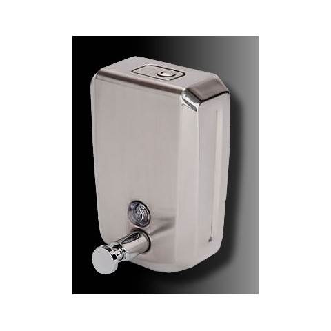 Bulk Fill Brushed Stainless Steel Soap Dispenser 1200ml Stainless