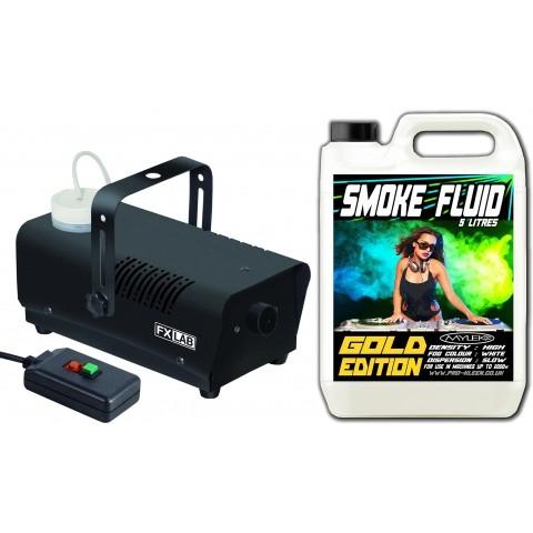 Smoke Machine With 5 Litre Gold Smoke Fog Fluid Hsd Online