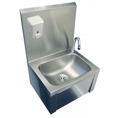 Commercial Basin : KNEE OPERATED SINK COMMERCIAL STAINLESS STEEL HAND WASH BASIN