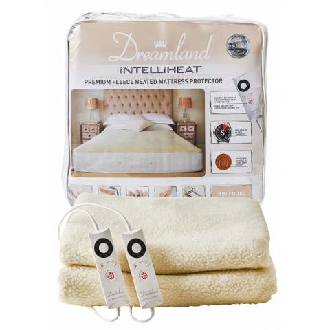 Dreamland Intelliheat Fully Fitted King Size Heated Mattress Cover