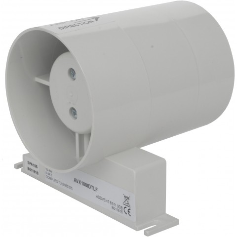 Addvent 100mm 4 Inch Axial In-Duct Extractor Fan with ...