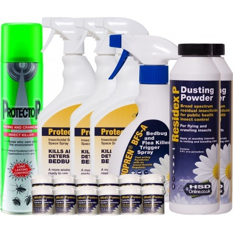 Bed Bug Killer Retreatment Kit With Insect Growth Regulator Spray For 3 Bedrooms Hsd Online