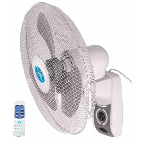 Prem I Air 16 Inch Oscillating Wall Fan With Remote
