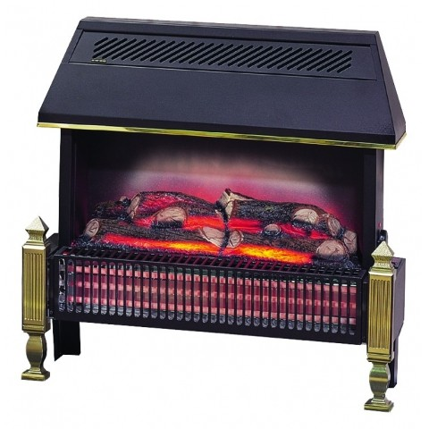 Flame Effect Electric Fires Part - 18: Dimplex Traditional Lyndurst Radiant Bar Flame Effect Electric Fire, 2.5KW  - HSDOnline