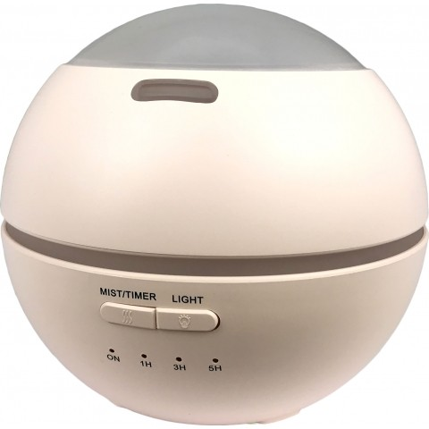 Misting dome non aerosol air freshener dispenser
