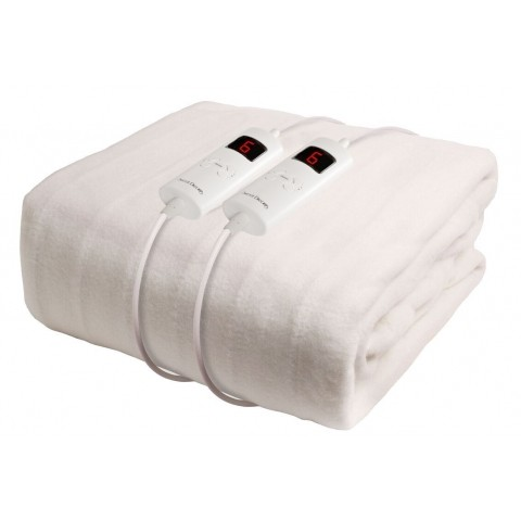 Sweet Dreams Fully Fitted King Size Electric Blanket With
