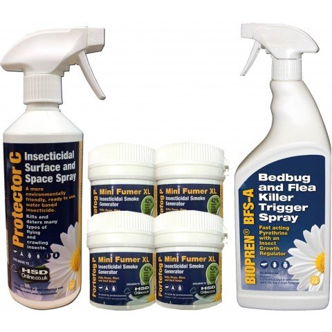 Bed Bug Killer Treatment Advanced Igr Insect Kill Bed Bugs Spray Foggers Bedroom Ebay