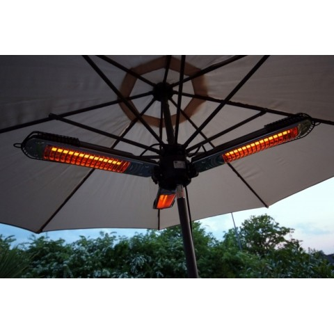 Prem I Air Robust Parasol Patio Heater 2kw Instant