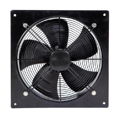 Axial Flow Plate Fan 400mm 6 Pole Single Phase