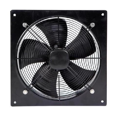 Axial Flow Plate Fan 400mm 6 Pole Single Phase