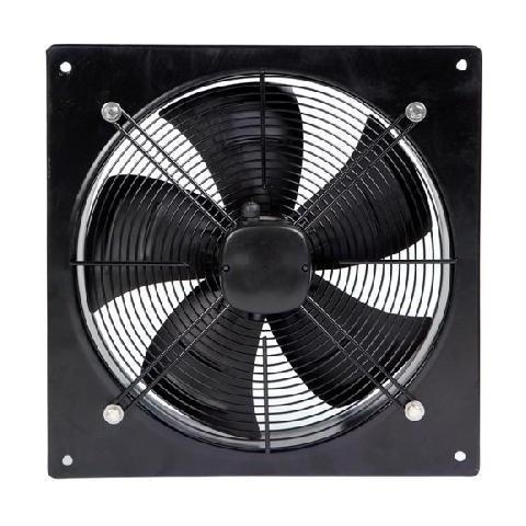 Axial flow plate extractor fan