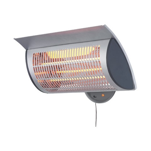 Outdoor Wall Mounted Patio Heater | 2 Heat Settings | 2Kw | Prem I Air   Outdoor  Heaters   HSD Online