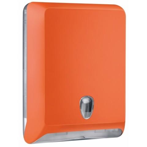 Orange Multifold Paper Hand Towel Dispenser Hsd Online