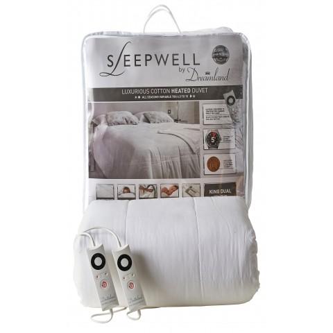 Sleepwell 16330 Luxury Cotton King Size Dual Controls