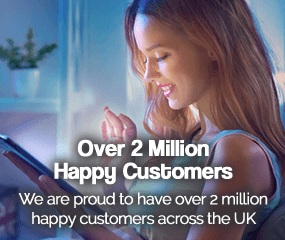 Over 2 million happy customers