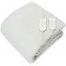 Cozy Night Fleece Electric Blanket With Corner Straps