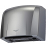 Silver hand dryer ABS plastic