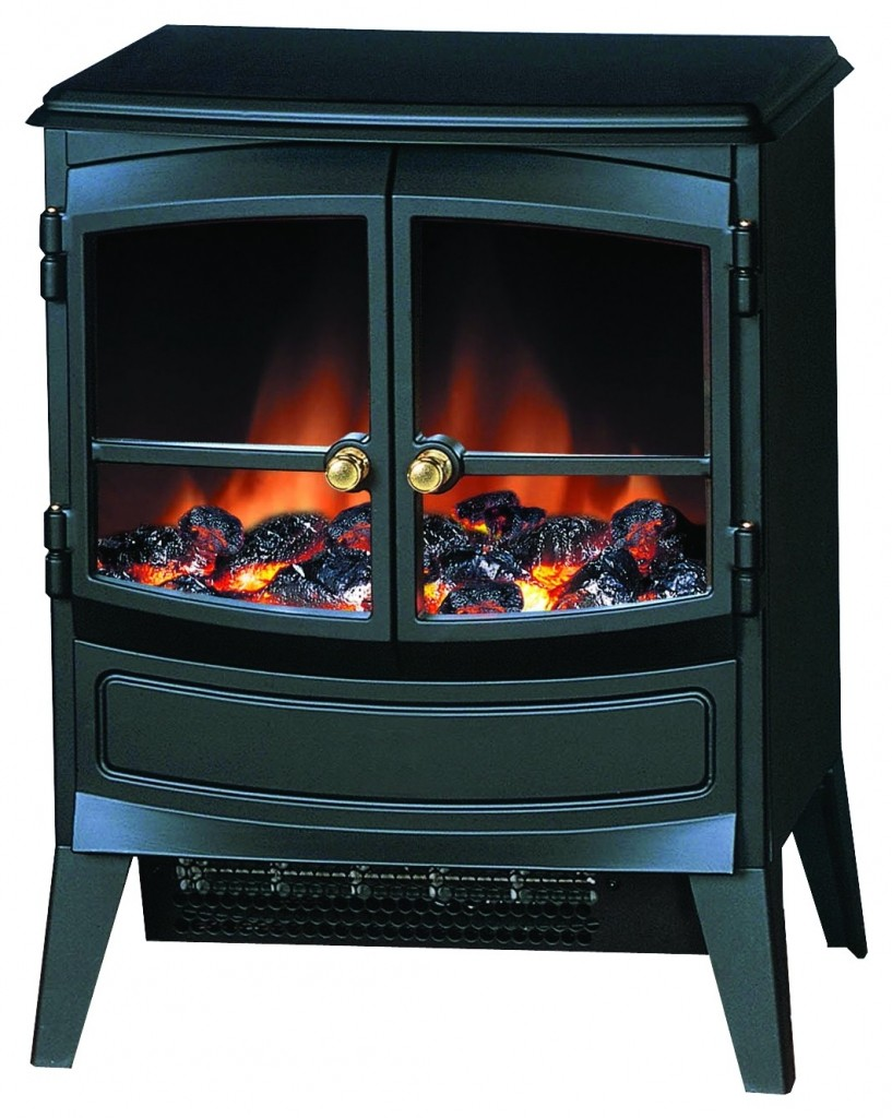 Dimplex free standing electric stove