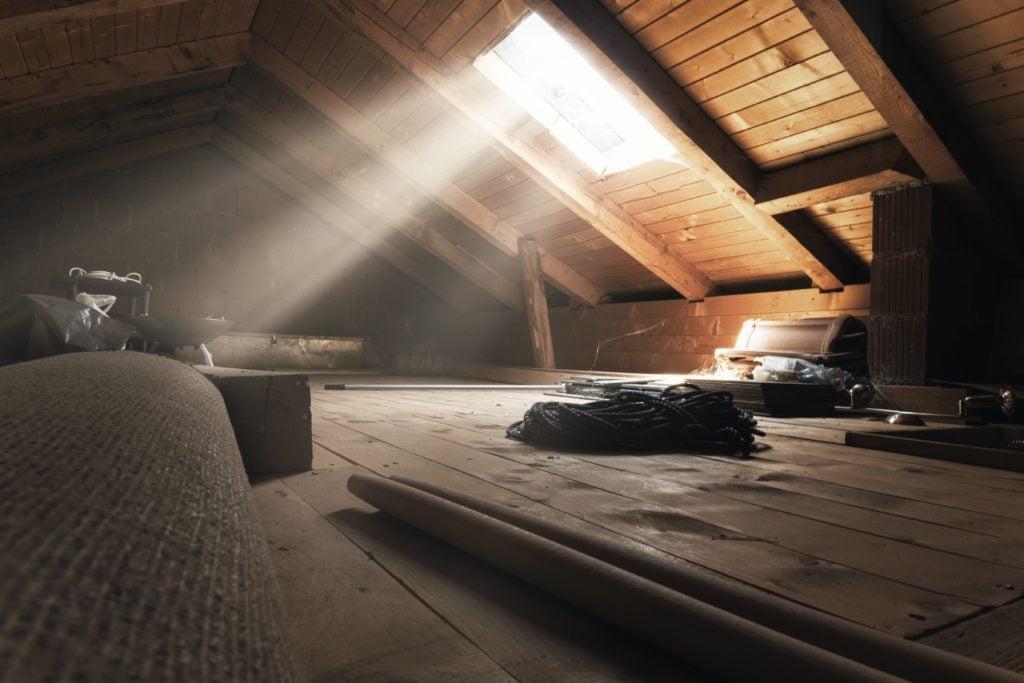 dirty attic